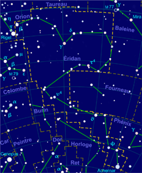 Image illustrative de l'article Éridan (constellation)