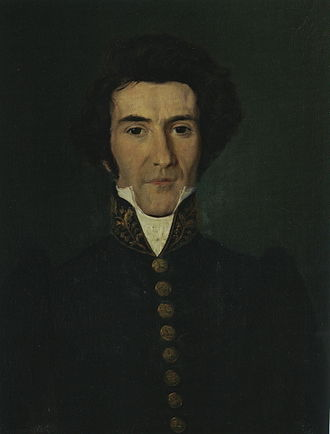Erik Røring Møinichen - Møinichen in 1832