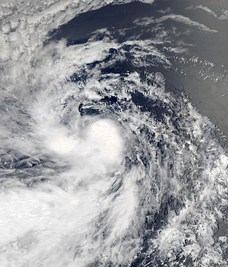 2013 Atlantic hurricane season - Image: Erin Aug 15 2013 1440Z