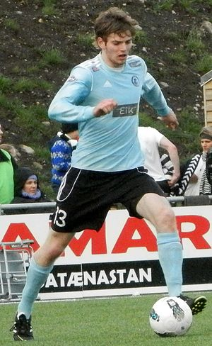 Erling Jacobsen - Erling Jacobsen in 2012 while playing for Víkingur Gøta