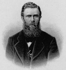 August Weger: Ernst Rudorff (vor 1892) (Quelle: Wikimedia)