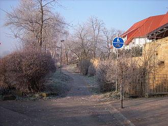 Isenach - Isenach bank in Erpolzheim