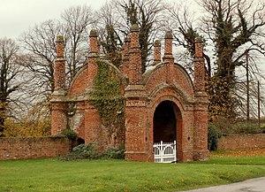 Shotley Peninsula - Erwarton Hall Gatehouse – geograph.org.uk – 283393