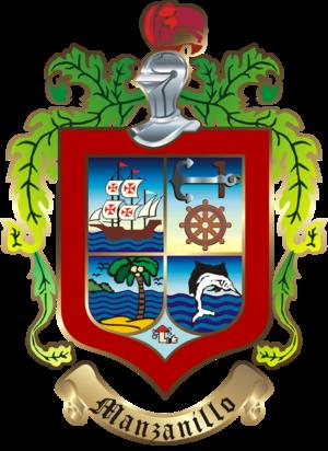 Manzanillo Municipality, Colima - Image: Escudo manzanillo