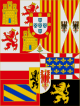 Estandarte Real de Felipe II.svg
