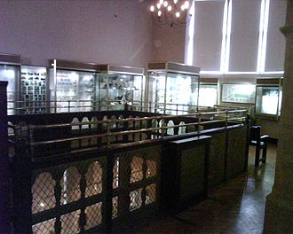 Eton College Collections - The first floor of the Eton College Natural History Museum.