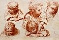 Etude d'enfants d'après Watteau, 1716, Sebastiano Ricci (45550517932).jpg