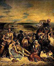 Ευγένιος Ντελακρουά - Η σφαγή της Χίου