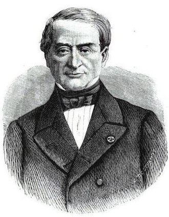 Comité des forges - Eugène Schneider, the first President, in 1869