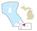 Evangeline Township, MI location.png