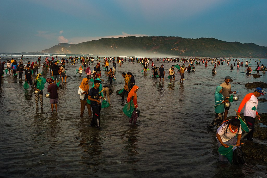 Event Rakyat Lombok, Bau Nyale