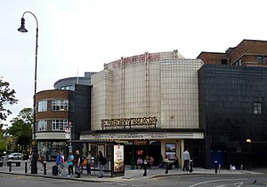 Everyman Cinema, Muswell Hill - Image: Everyman Theatre, Muswell Hill (formerly The Odeon) 02