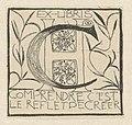 Ex libris voor Dora Calisch-Hijmans, RP-P-1938-1143.jpg