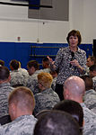 Expert educates Team Andersen on sexual assault concepts 141105-F-SC307-010.jpg