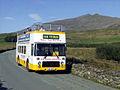 Express Motors Ffestiniog open top bus Bristol VR ECW UWV 622S near Ffridd Uchaf, Gwynedd 9 September 2006.jpg
