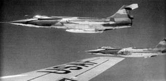 435th Fighter Training Squadron - 435th TFS F-104Cs over Southeast Asia, October 1966