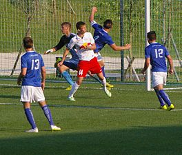 FC Liefering vs. Creighton University 06.JPG