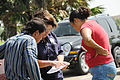 FEMA - 37324 - FEMA representative talks to residents in Texas.jpg
