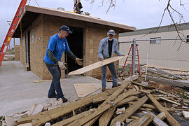 FEMA - 39960 - Volunteers help rebuild Anahuac NWR after devastation of Hurricane Ike.jpg
