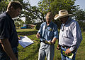FEMA - 44556 - FEMA and State workers in the field to provide information to Tornado.jpg