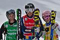 FIS Ski Cross World Cup 2015 - Megève - 20150313 - M. Hoeie Gjefsen, A. Holmlund et K. Ofner 3.jpg