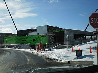 Finger Lakes Community College - Construction of the new student life center and cafeteria