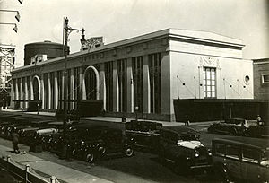 Timeline of Newark, New Jersey - Newark Penn Station, c.1940
