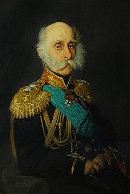 Портрет графа Ф.П. Литке, президента Императорской Академии наук. (И.Н. Крамской, 1871)
