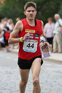 Fabian Hertner Swiss orienteering competitor