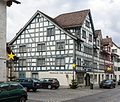 Fachwerkhäuser an der Hauptstrasse in Rheineck SG.jpg