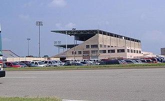 Cardinal Stadium - Cardinal Stadium from a distance