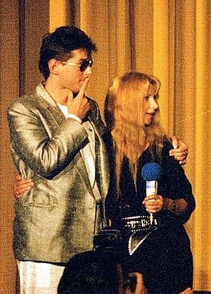 Falco (musician) - Falco and actress Ursela Monn (1986)