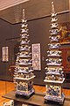 Famous Royal Delft blue (porcellain) as towervases for flower decoration at Rijksmuseum Amsterdam - panoramio.jpg