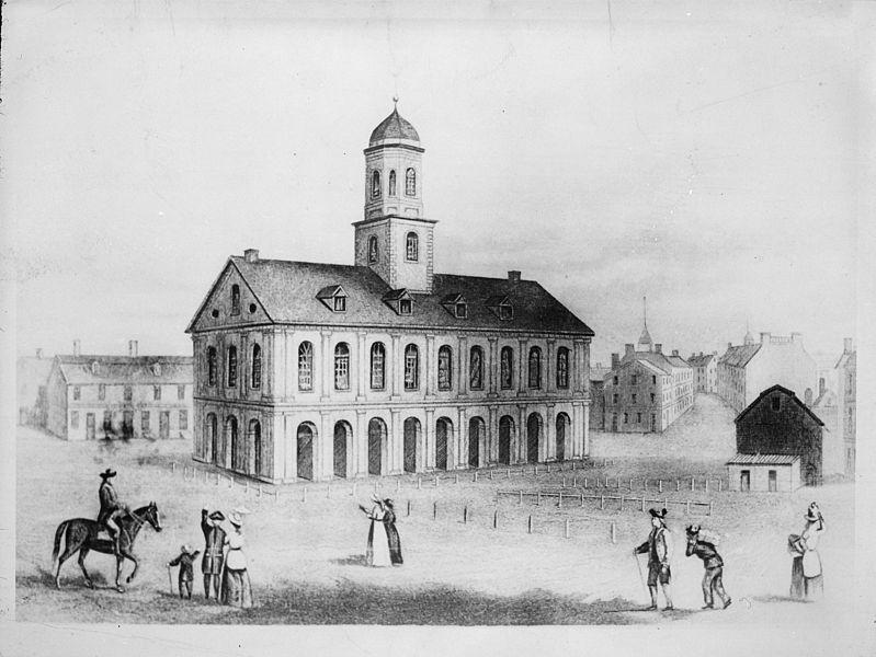 File:Faneuil Hall, Boston, 1789 - NARA - 535907.jpg