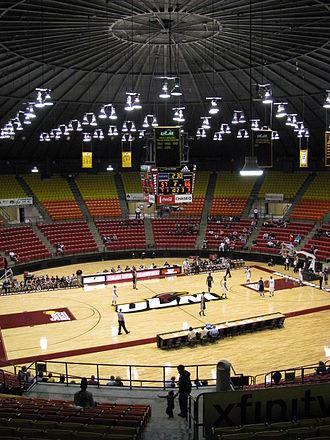 Fant–Ewing Coliseum - Image: Fant–Ewing Coliseum interior