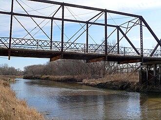 Republican River - The Republican River near Riverton, Nebraska