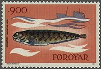 Faroe stamp 083 catfish.jpg