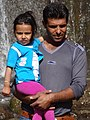 Father and Child at Ganjnameh - Outside Hamadan - Western Iran (7423551846).jpg