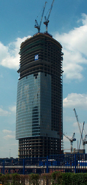 Federation Tower - Image: Fed Tower Moscow 280606 2