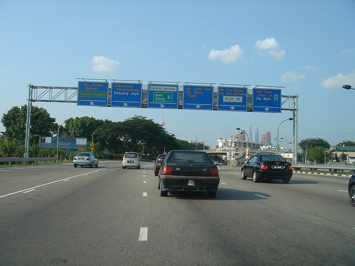 Federal Highway, Malaysia - Wikipedia