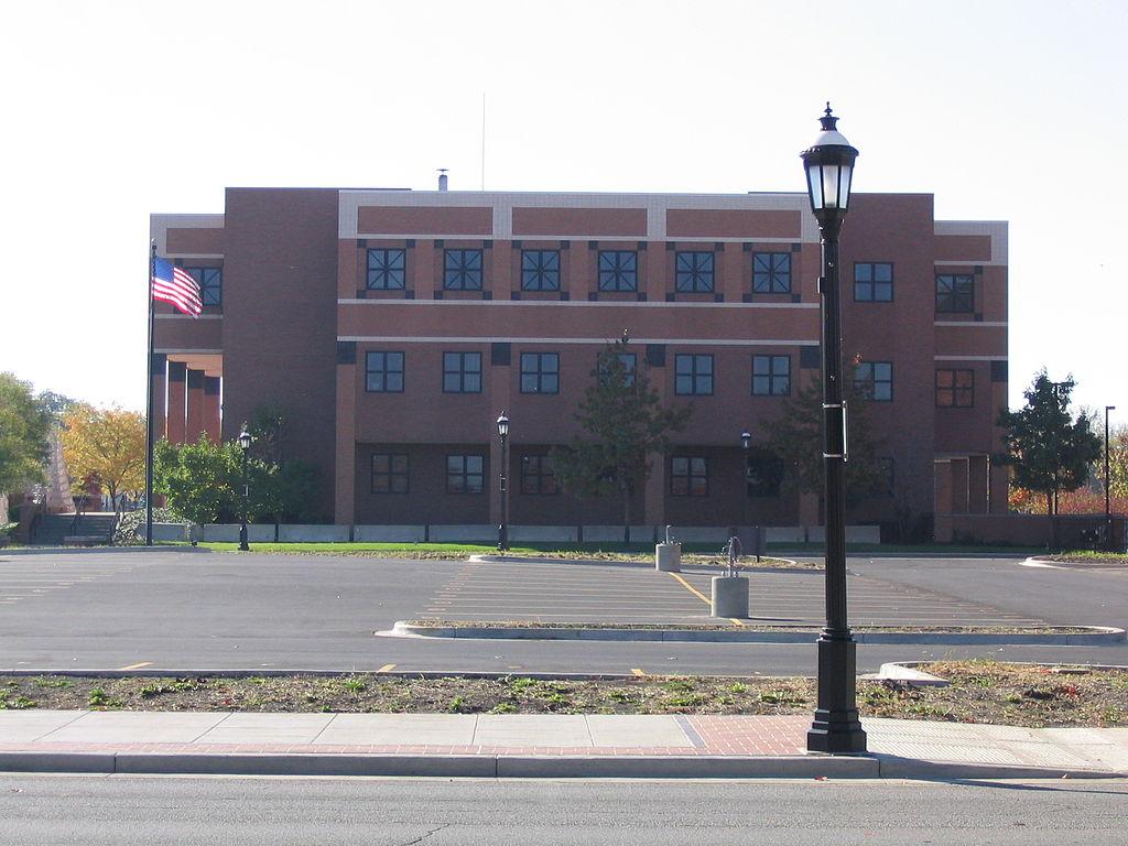 Urbana Federal Building  S Vine Street Urbana Illinois