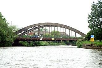 Brislington West (ward) - Bridge over the River Avon