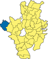 Feldkirchen-Westerham - Lage im Landkreis.png