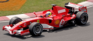 Ferrari 248 F1 - Image: Felipe Massa 2006 Canada (crop)