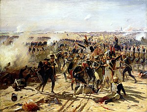 Battle of Aspern-Essling - The Battle of Aspern-Essling, May 1809  by Fernand Cormon