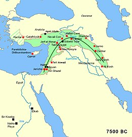 irrigation in the fertile crescent