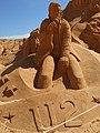 Festival Internacional de esculture em Areia, Bono U2, 23 September 2015.JPG