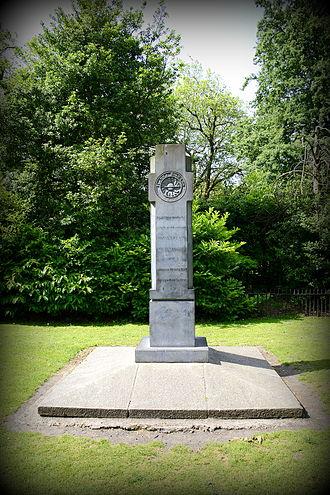Fianna Éireann - Fianna memorial at St. Stephen's Green Park, Dublin, Ireland.