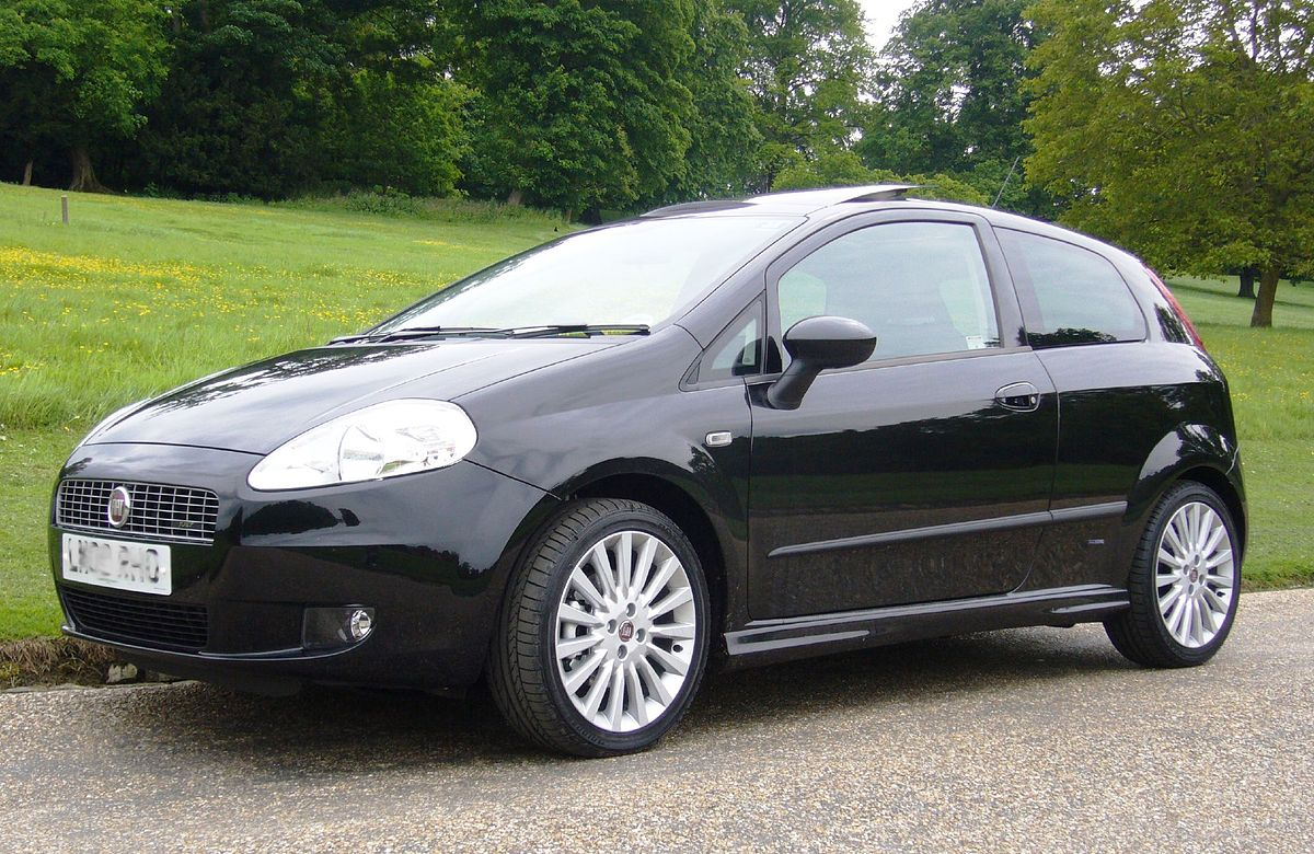 fiat grande punto wikipedia. Black Bedroom Furniture Sets. Home Design Ideas