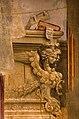 Filippino lippi, tabernacolo del mercatale, 1498, da piazza mercatale a prato 08 arpia e libri.jpg